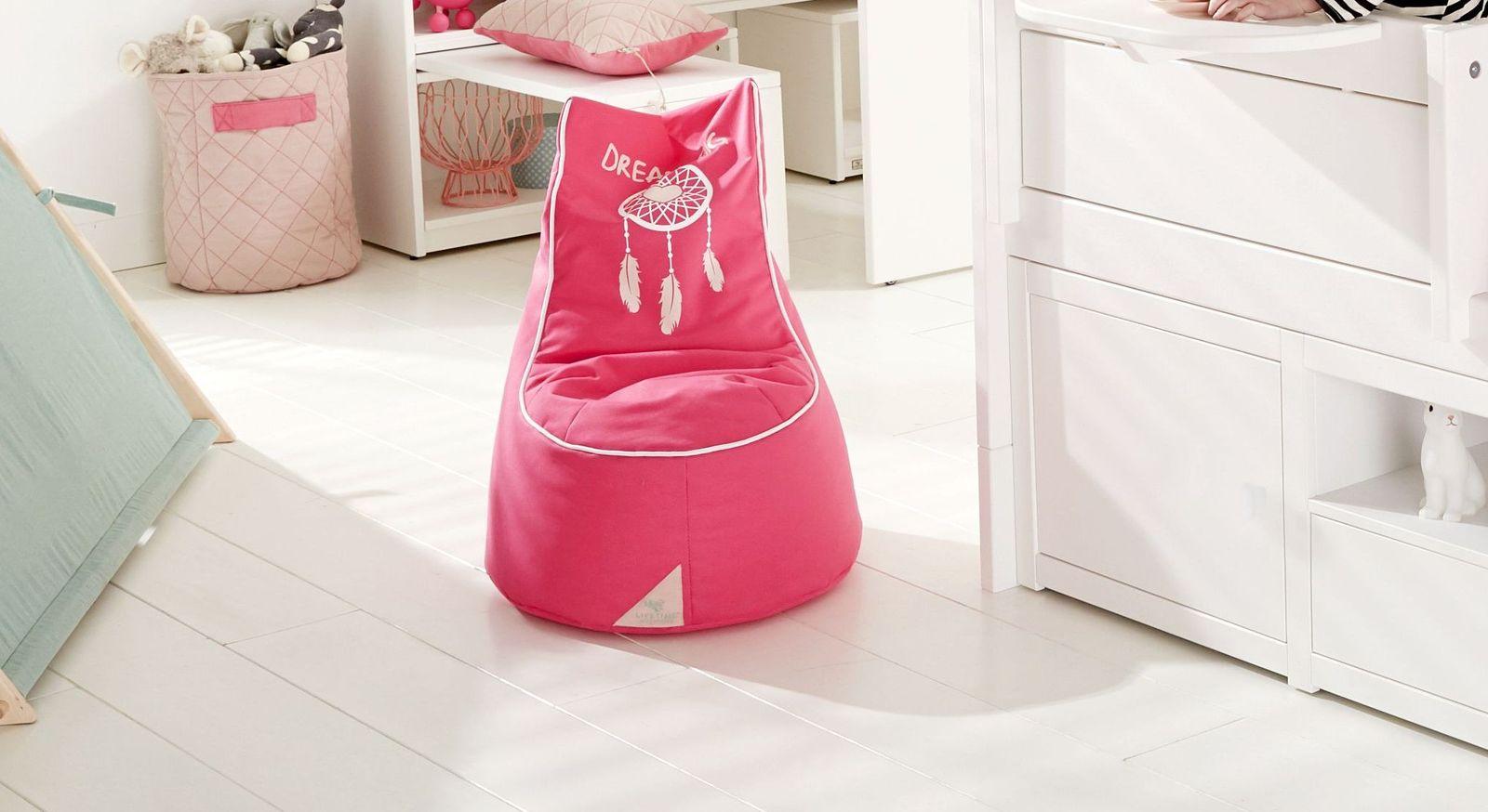 LIFETIME Sitzkissen und Sitzsäcke Sioux fürs Mädchen-Zimmer