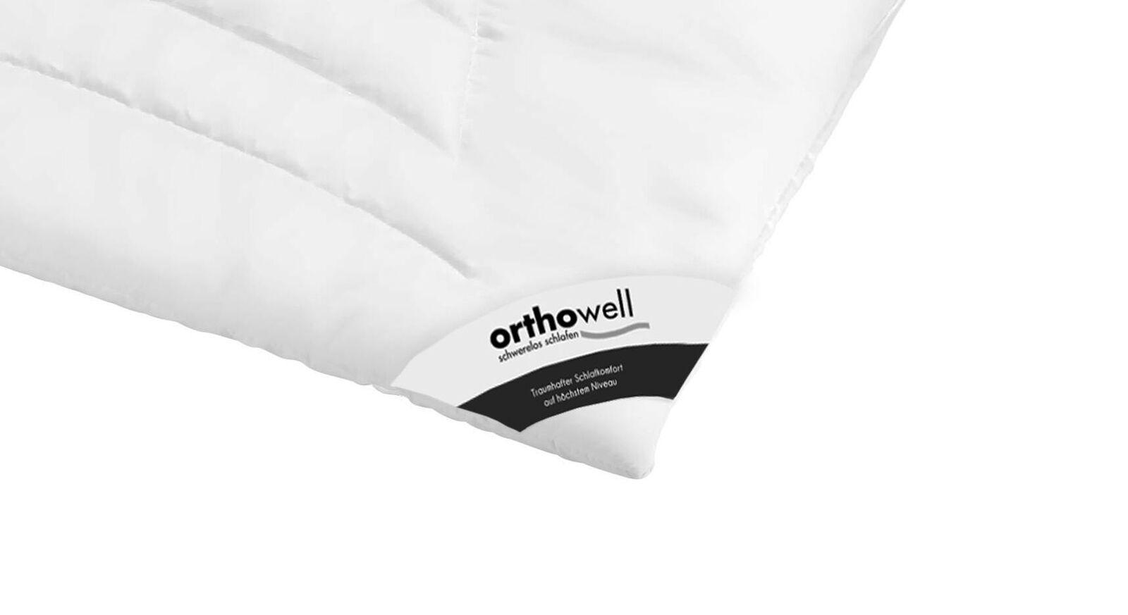 Markenfaser-Bettdecke orthowell Superior in Markenqualität