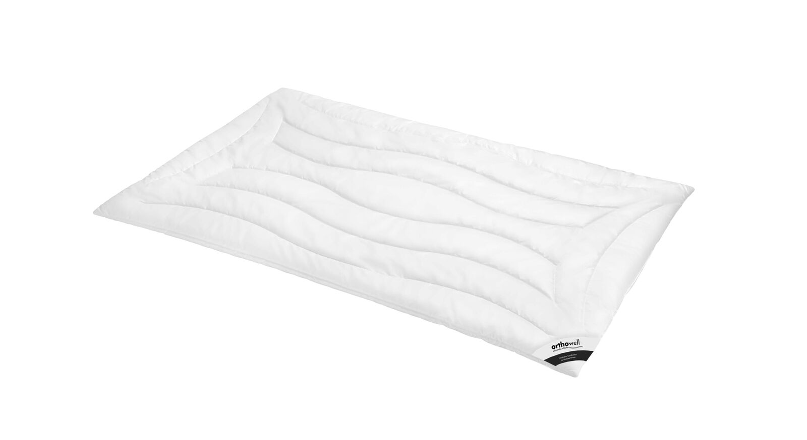 Markenfaser-Bettdecke orthowell Superior warm mit Baumwoll-Bezug