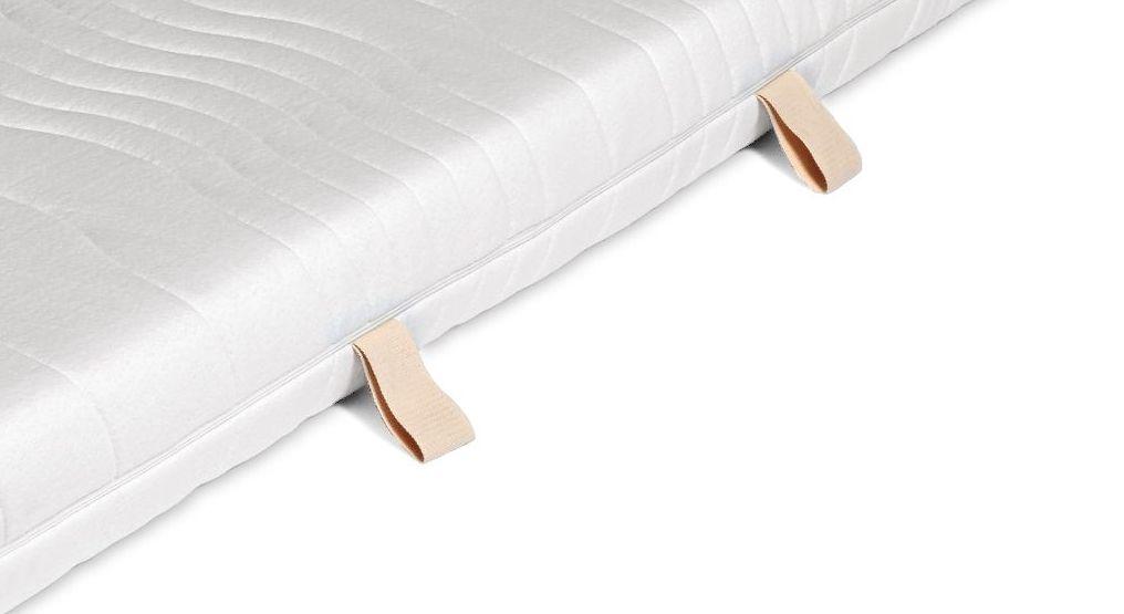 Verträglicher Matratzen-Bezug Bio aus 100% Baumwolle