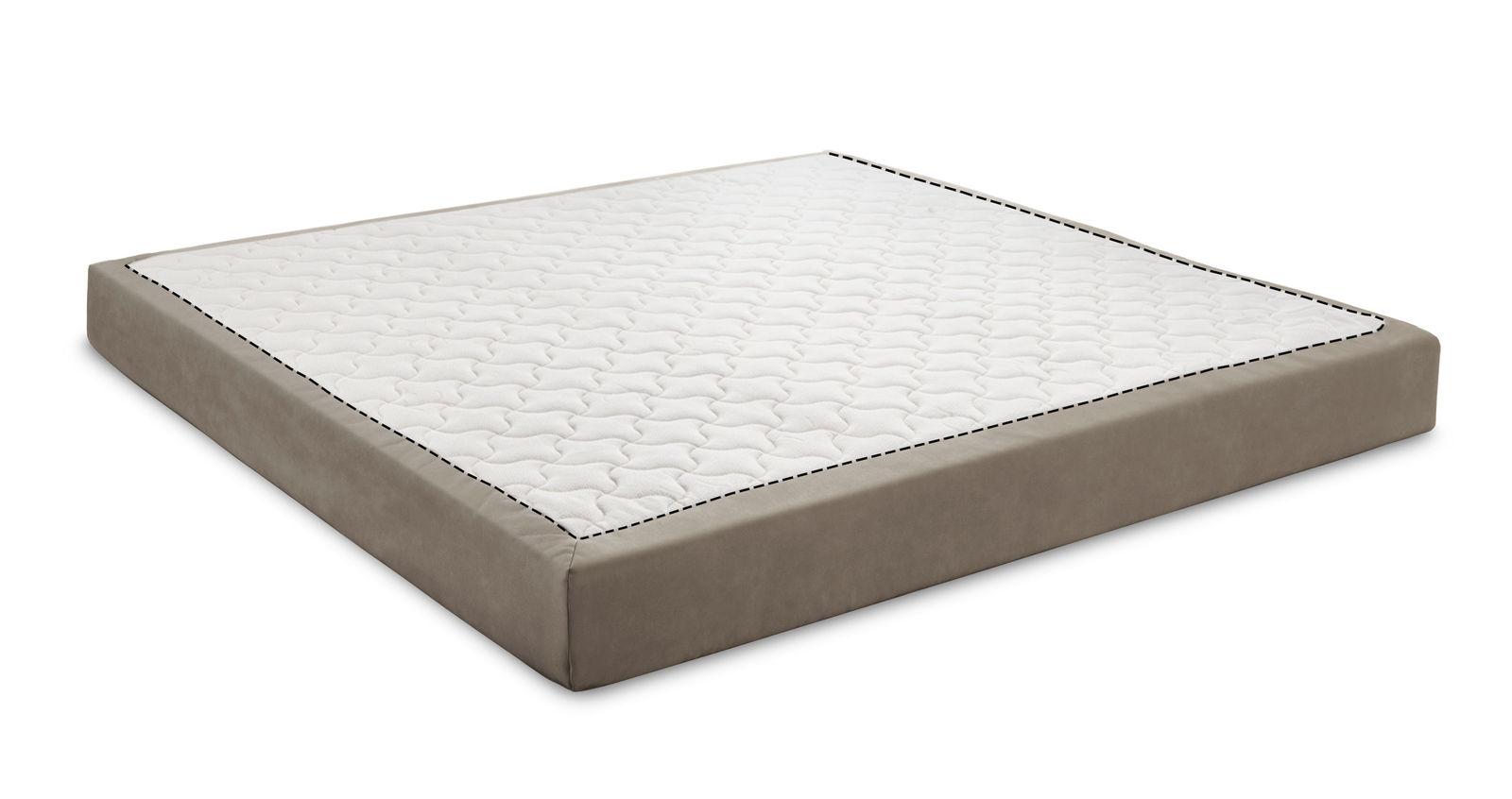 Matratzenbezug mit 2 Kernen und praktischem Reißverschluss