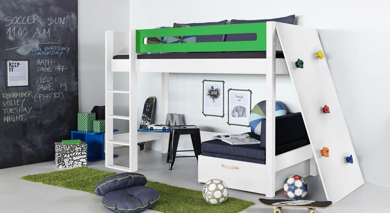 Passende Produkte zum Midi-Hochbett Kids Town mit Kletterwand