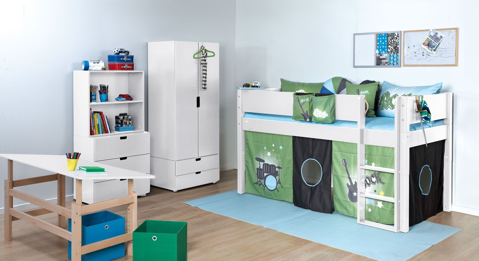 Passende Produkte zum Mini-Hochbett Kids Town