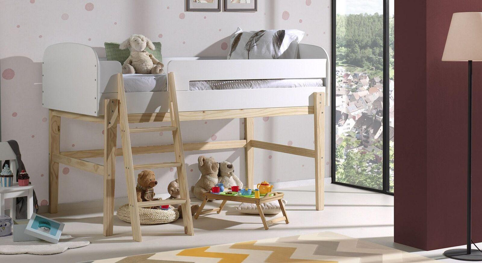 Hochwertiges Mini-Hochbett Maila für Kinder
