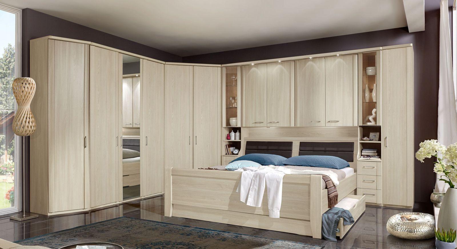 Berbau schlafzimmer in edel esche dekor f r senioren palena - Schlafzimmer edel ...