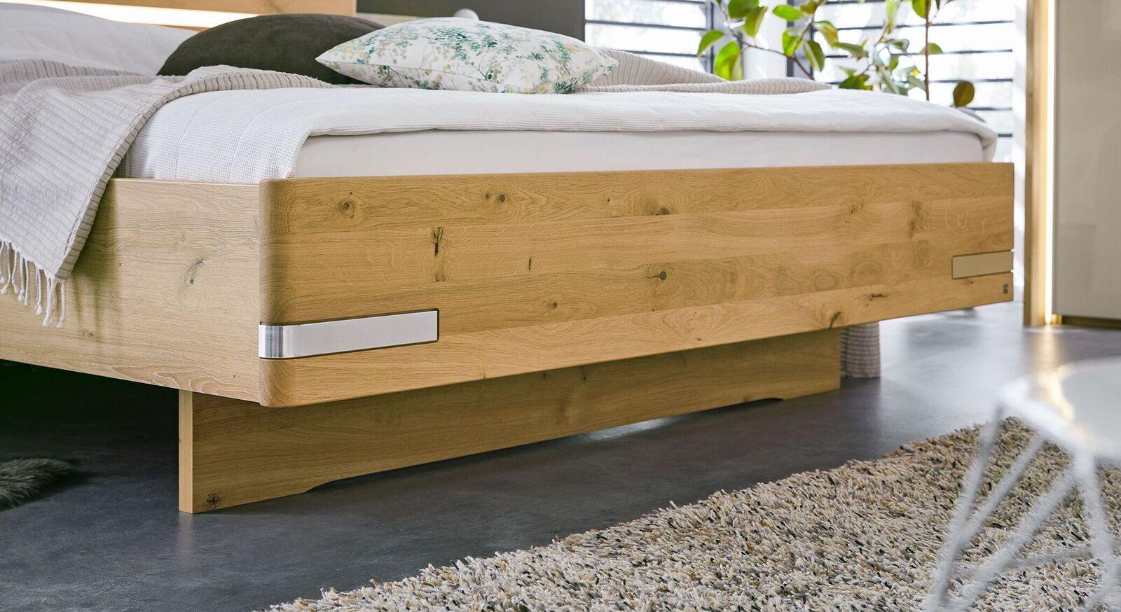 MUSTERRING Bett Savona 2.0 mit attraktivem Fußbereich
