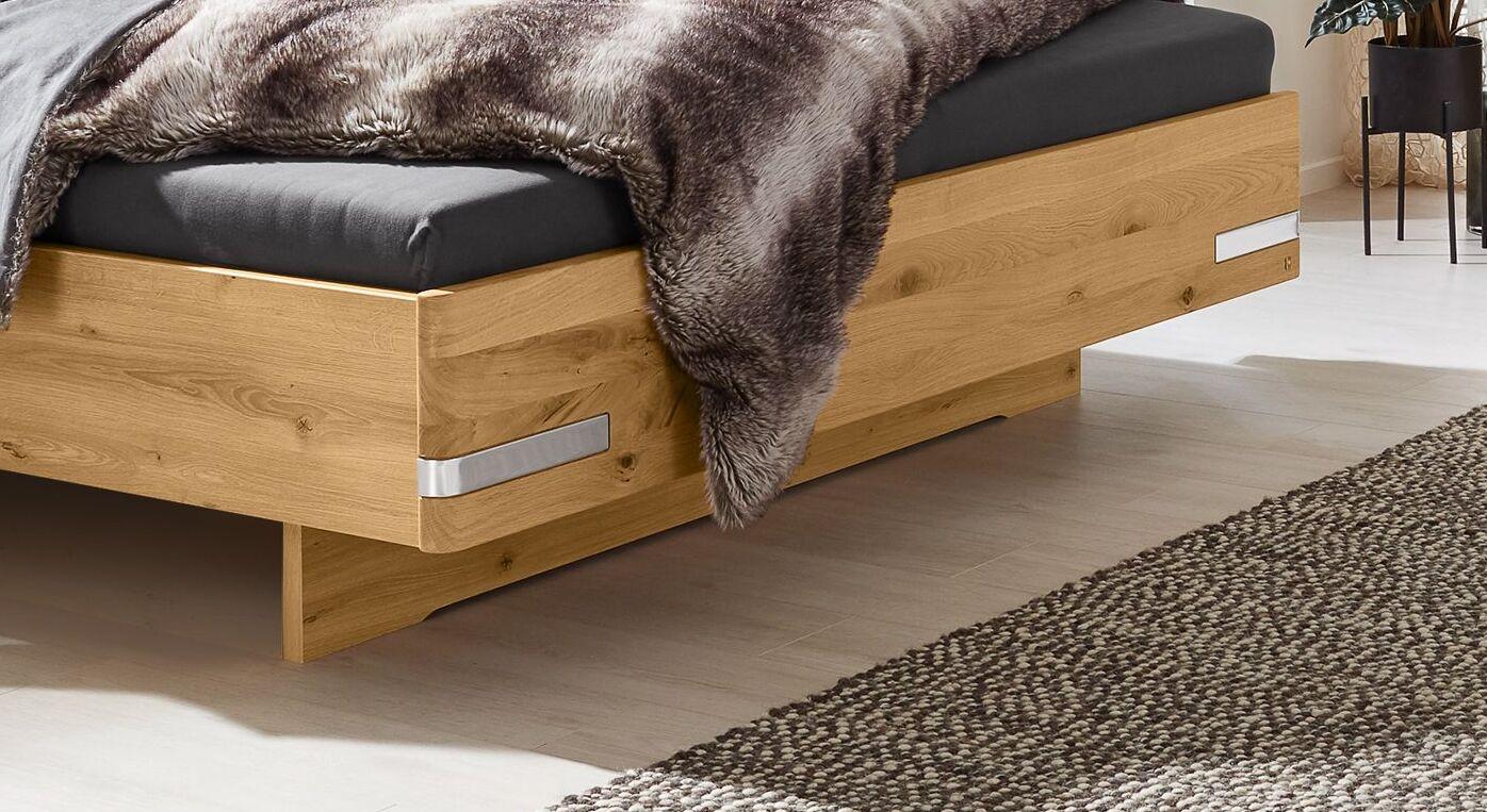 MUSTERRING Bett Savona 2.0 mit hochwertigem Holzrahmen