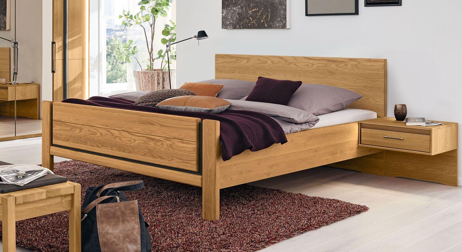 MUSTERRING Bett Sorrent inklusive Kopf- und Fußteil