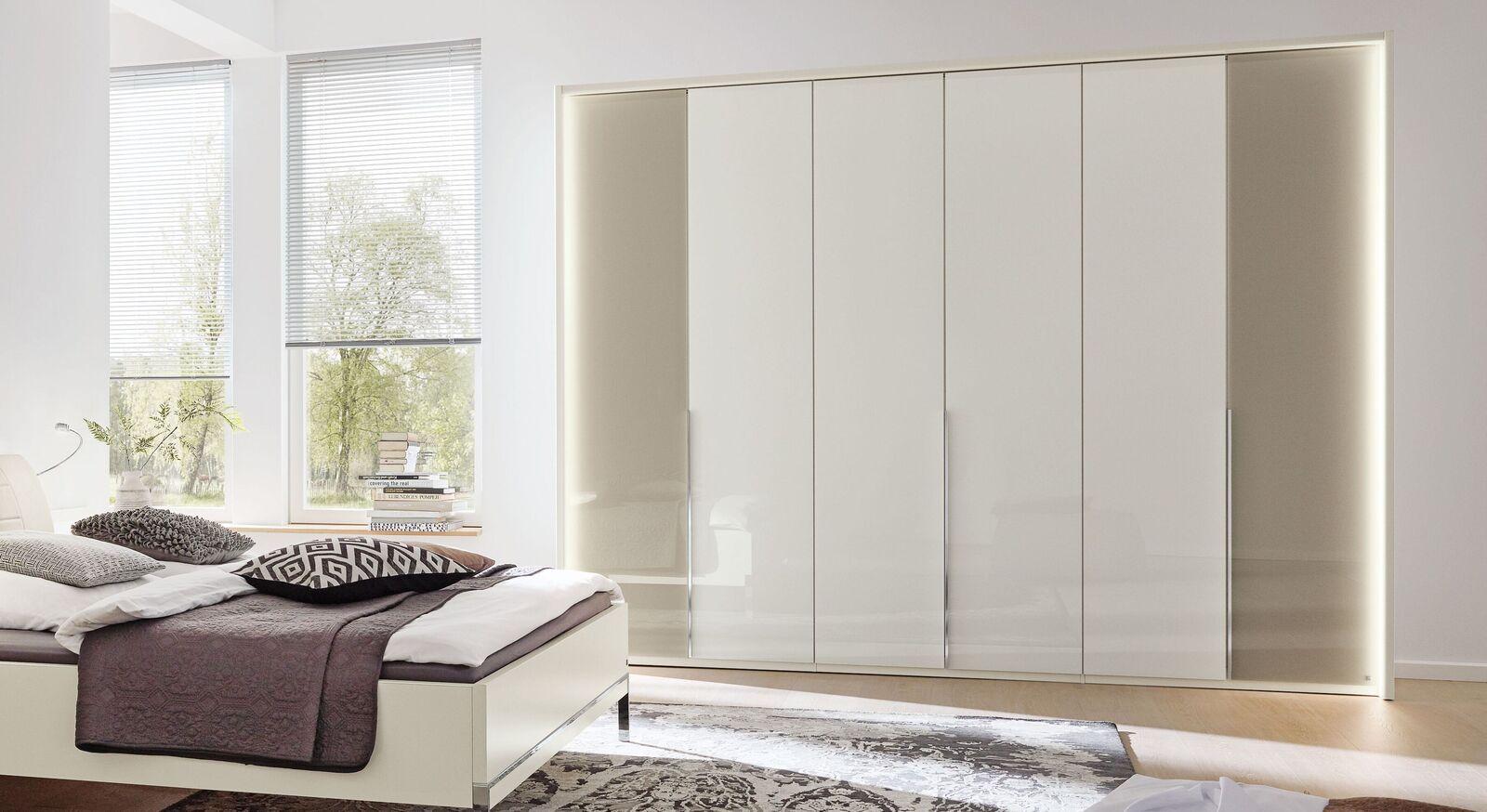 MUSTERRING Drehtüren-Kleiderschrank San Diego Weiß in einer breiten Ausführung