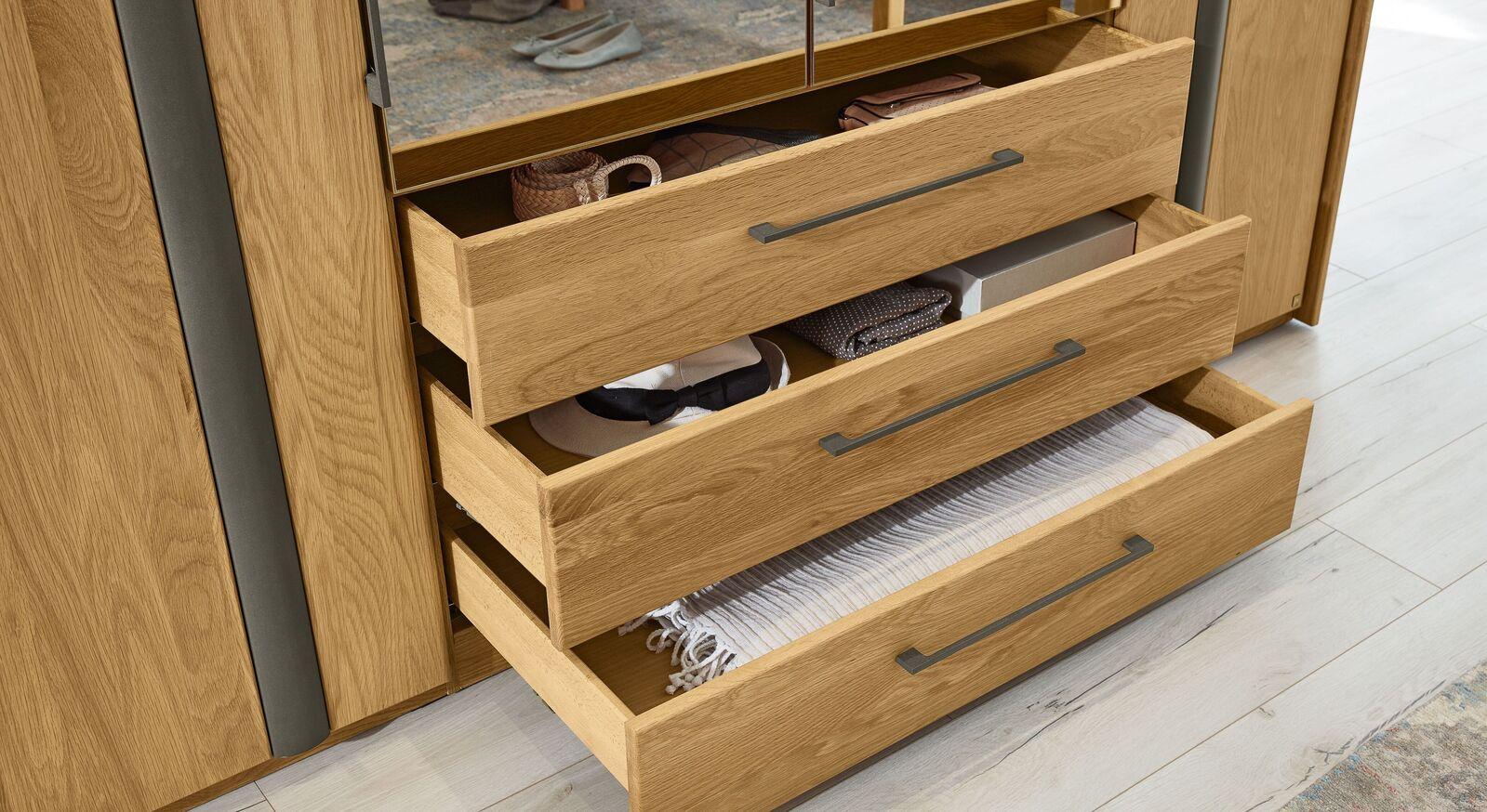 MUSTERRING Funktions-Kleiderschrank Sorrent mit hochwertigen Schubladen