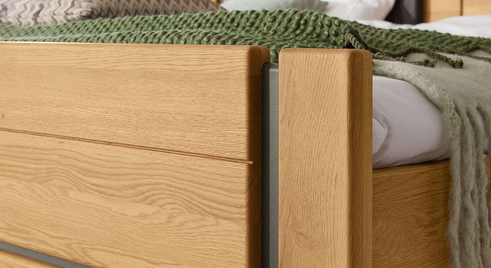 MUSTERRING Komfort-Einzelbett Sorrent mit eleganten Fräsungen