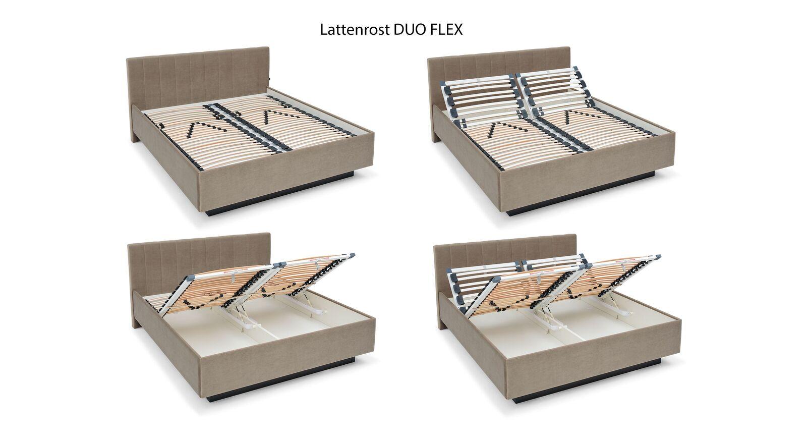 MUSTERRING Lattenrost Duo Flex mit praktischer Verstellung