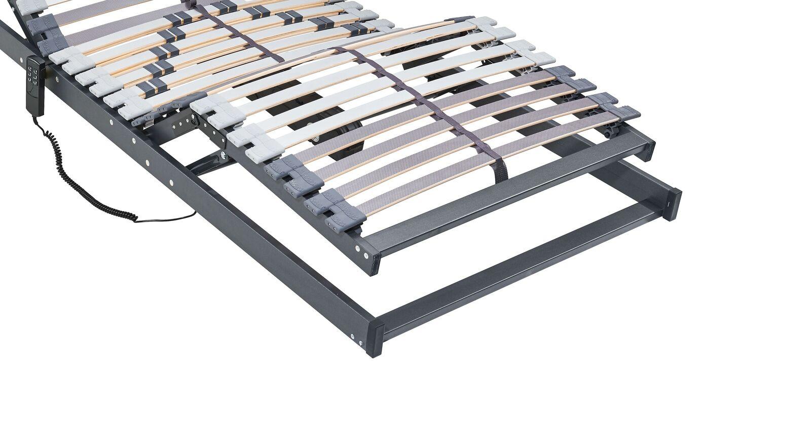 MUSTERRING Motor-Lattenrost Orthomatic FHR aus Birkenschichtholz
