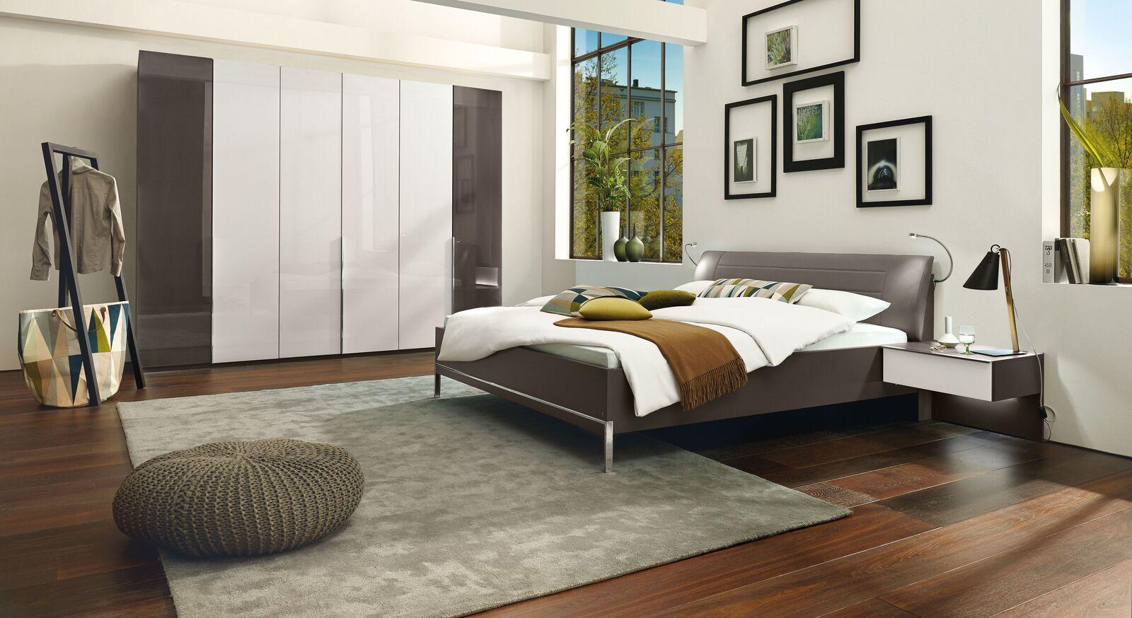 Luxusmöbel des MUSTERRING Schlafzimmers San Diego Havanna
