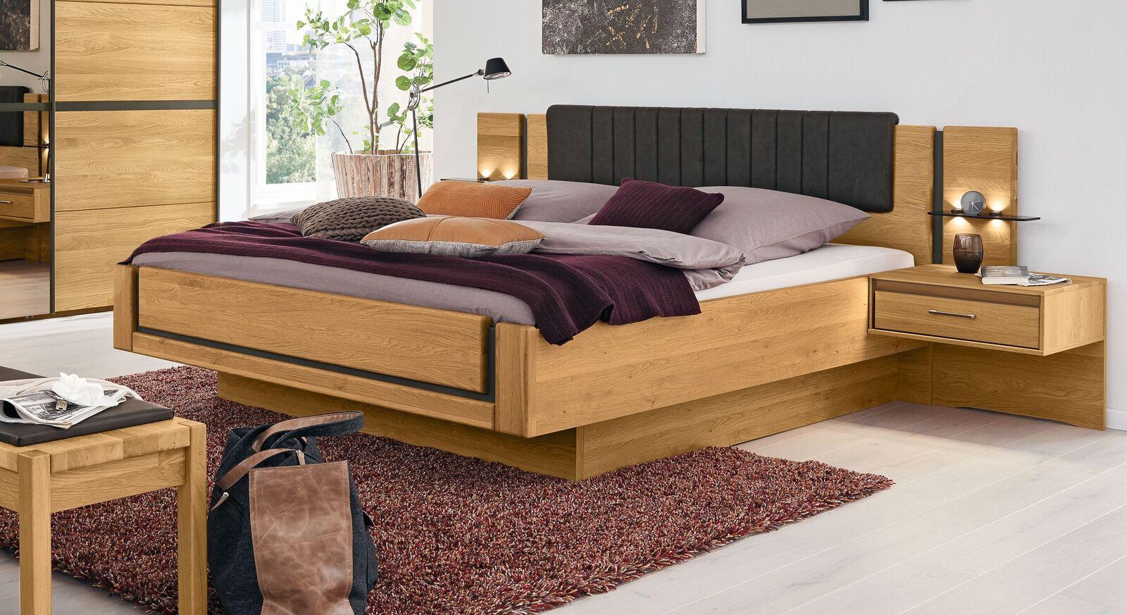 MUSTERRING Schlafzimmer Sorrent mit Bett im angesagten Schwebelook