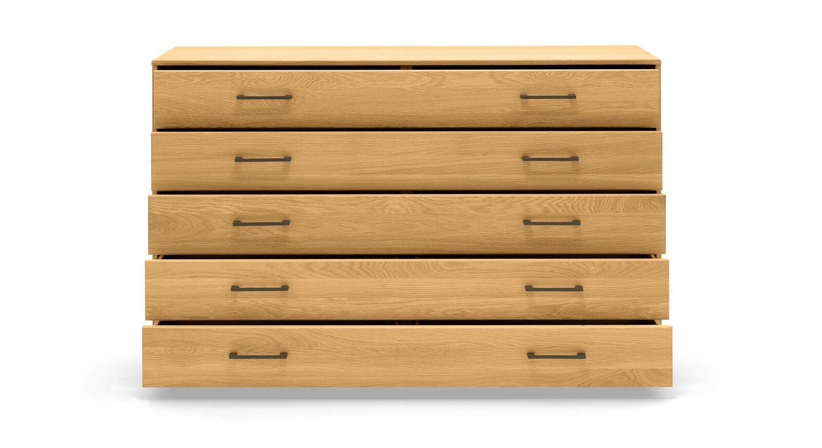 MUSTERRING Schubladen-Kommode Sorrent mit 5 geräumigen Schubfächern