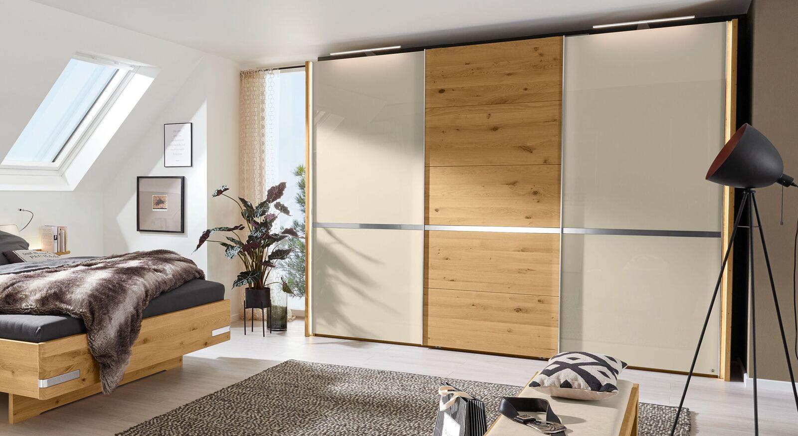 MUSTERRING Schwebetüren-Kleiderschrank Savona 2.0 mit 3 Türen