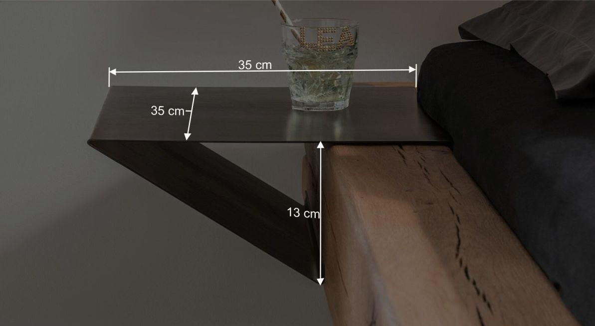 Bemaßungsgrafik zum Nachttisch Bimonda