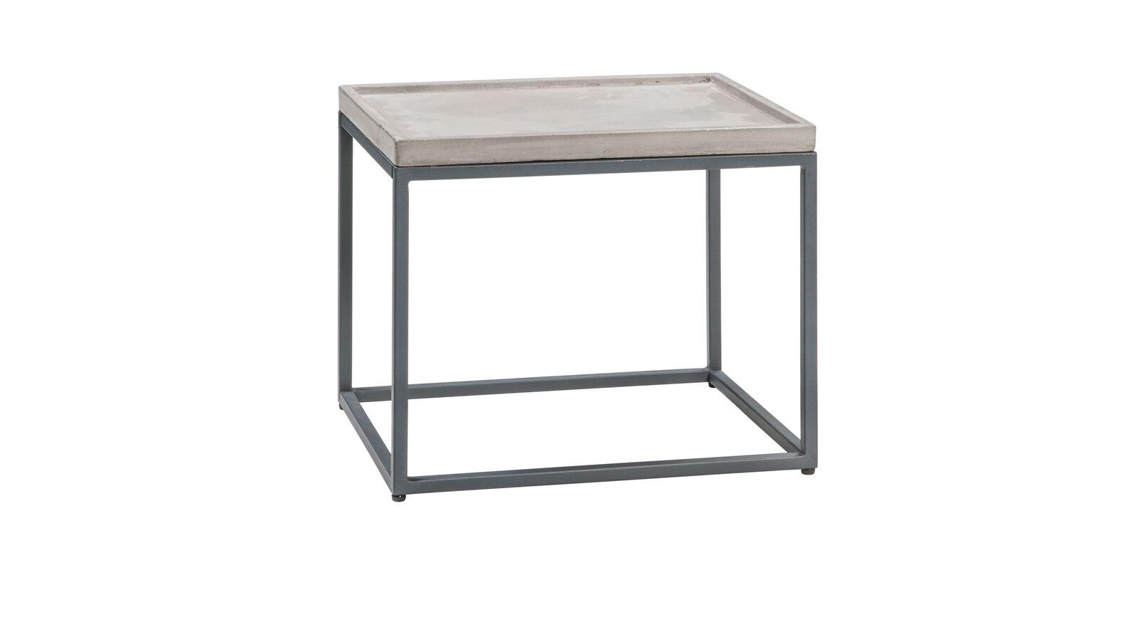 Moderner Nachttisch Envigado mit Stahl-Gestell