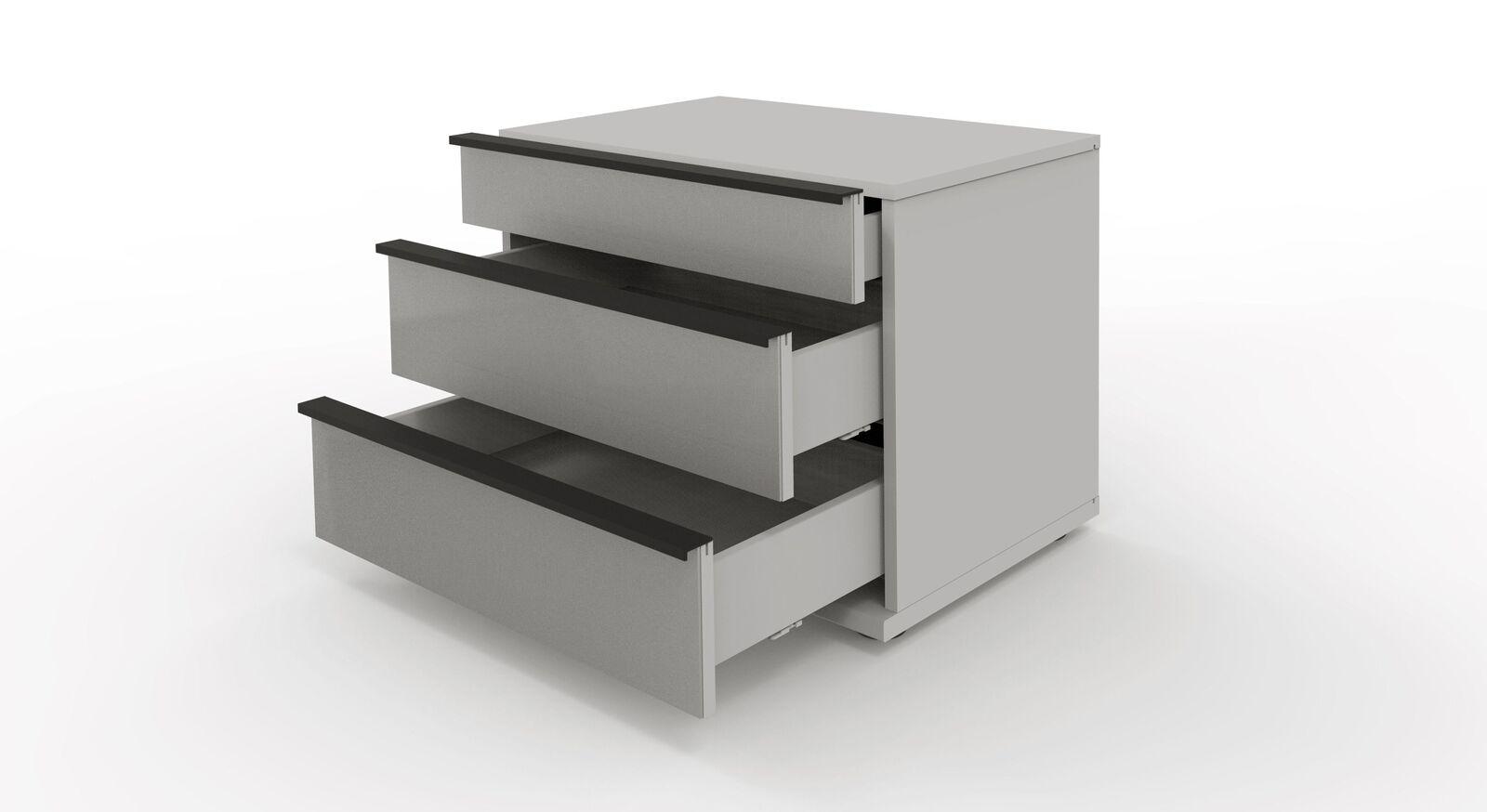 Nachttisch Loyd mit 3 praktischen Schubladen