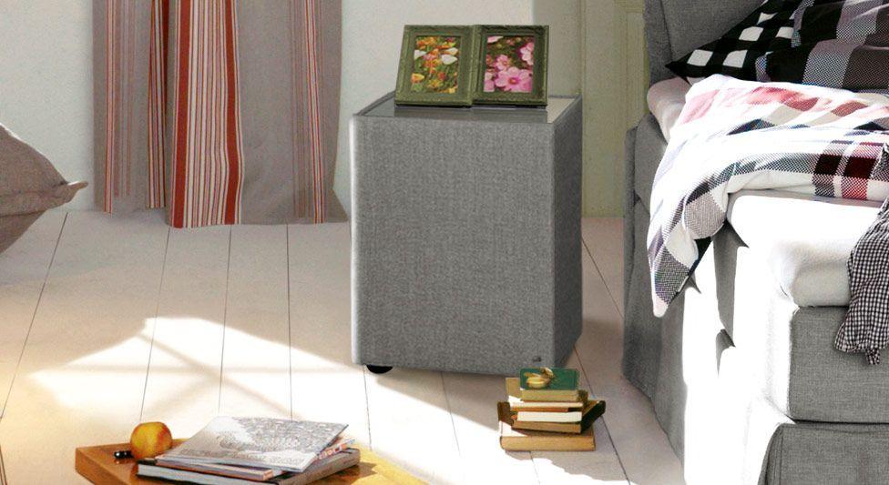 Nachttisch Tom Tailor Cushion mit grauem Stoffbezug