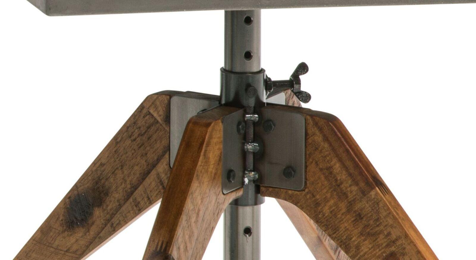 Nachttisch Velario mit geätztem Stahlunterbau
