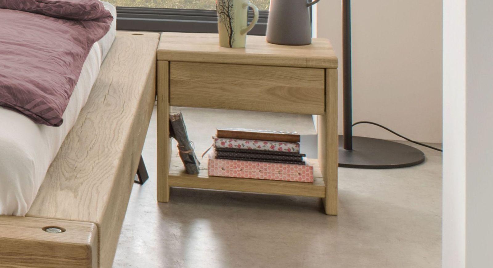 Nachttisch Vetralla mit praktischer Schublade