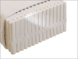 naturlatex matratze samar comfort mit bezug f r allergiker. Black Bedroom Furniture Sets. Home Design Ideas