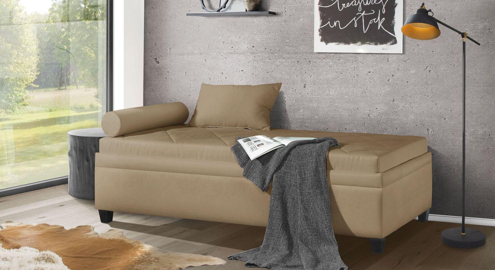 Relaxliege Kamina Komfort mit passenden Accessoires