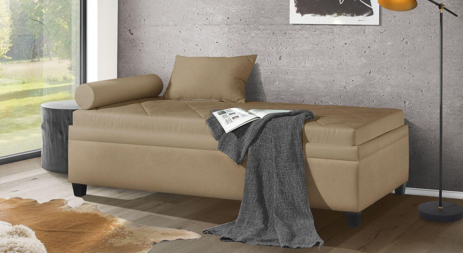 Moderne Relaxliege Kamina Komfort in 90x200 cm