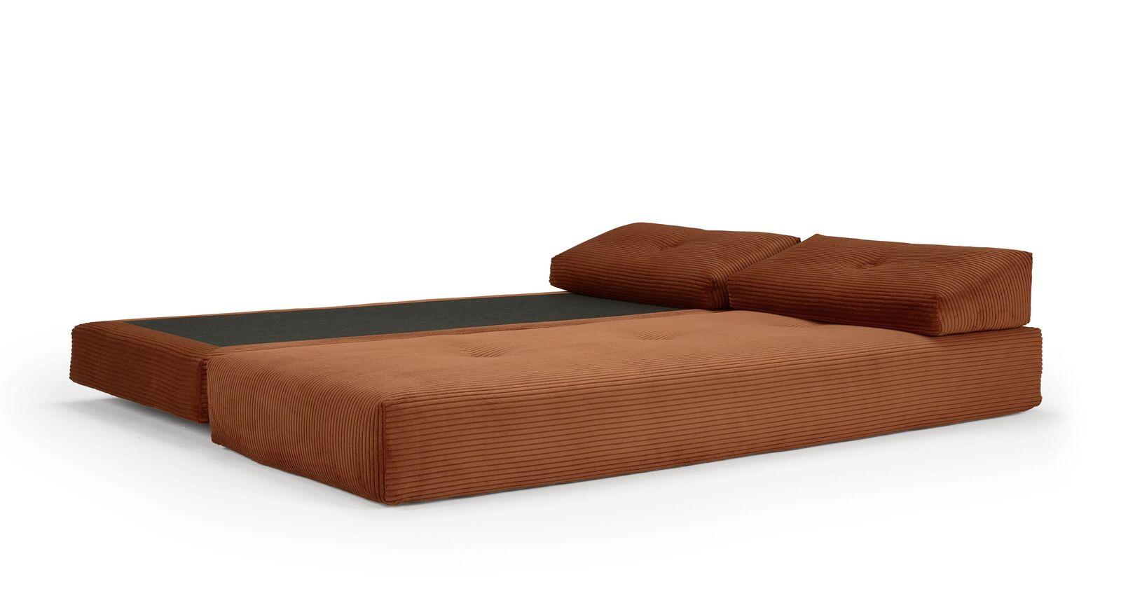 Relaxliege Yorkshire aus Cordstoff als Doppelbett