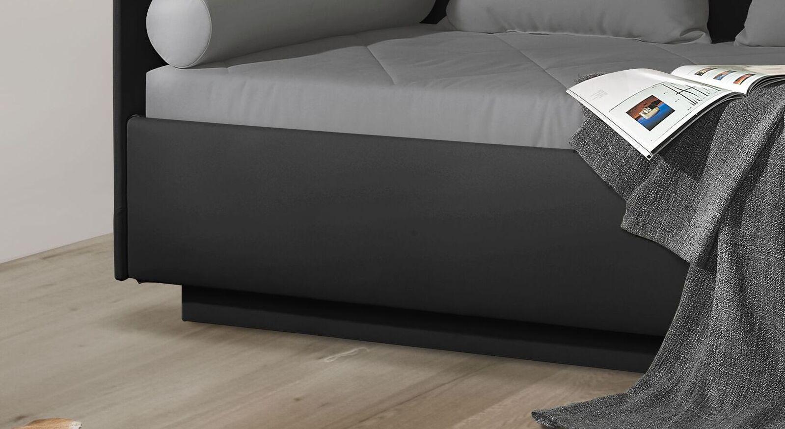 Schlafsofa Eriko Komfort mit niedrigem Sockel