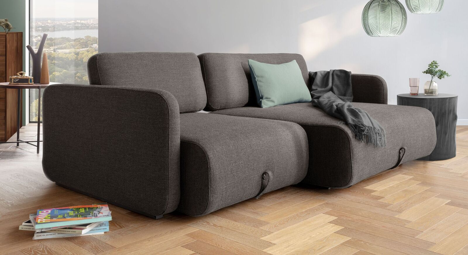 Exklusives Design-Schlafsofa Mikan