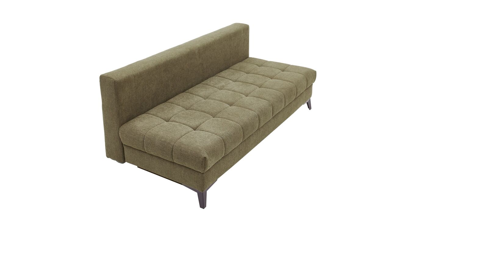 Schlafsofa Pasqua mit gesteppter Sitzfläche