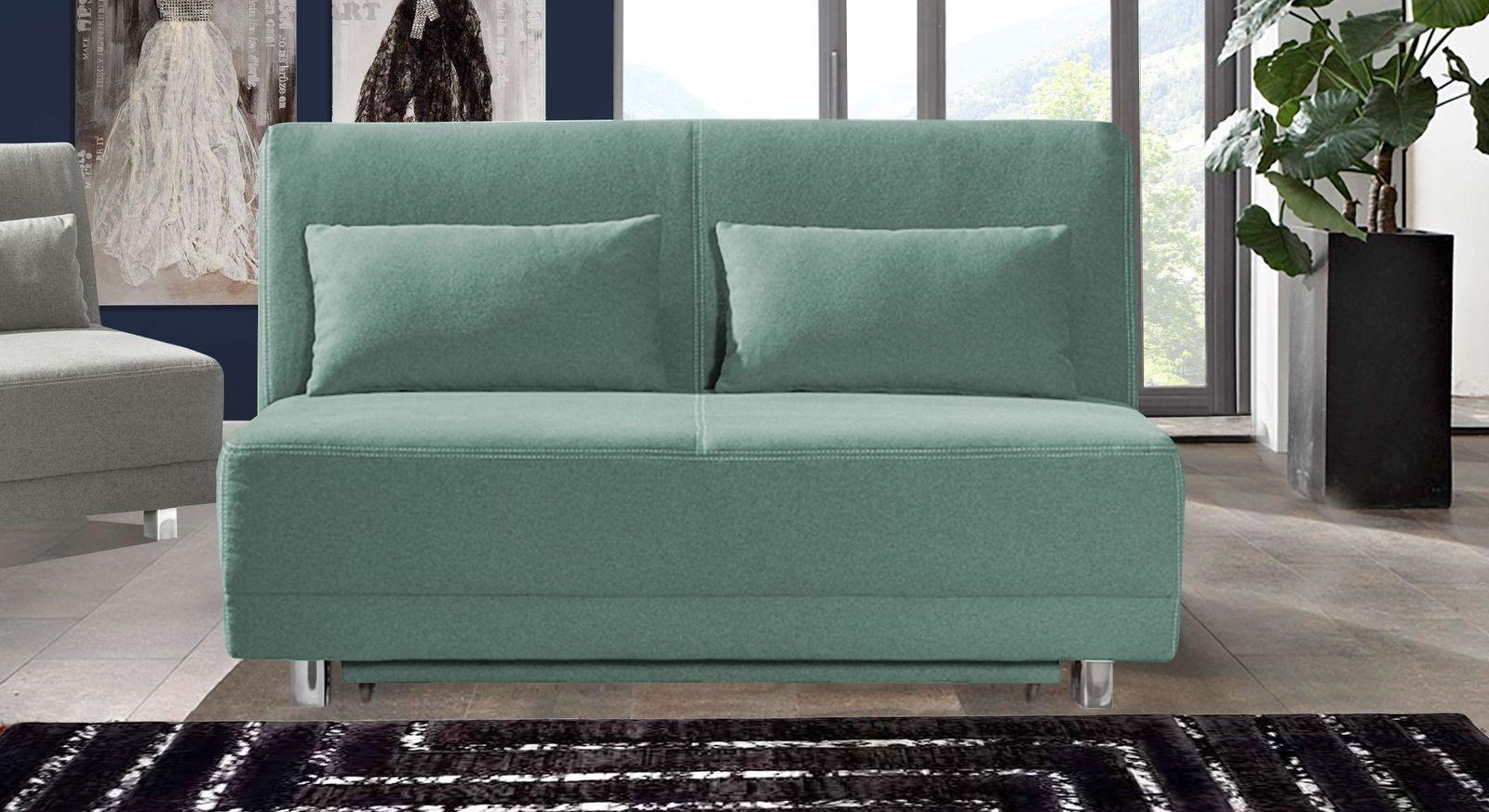 schlafsofa f r jede nacht mit gro em bettkasten. Black Bedroom Furniture Sets. Home Design Ideas