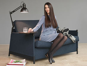 platzsparende bequeme l ngsschl fer schlafsofas. Black Bedroom Furniture Sets. Home Design Ideas