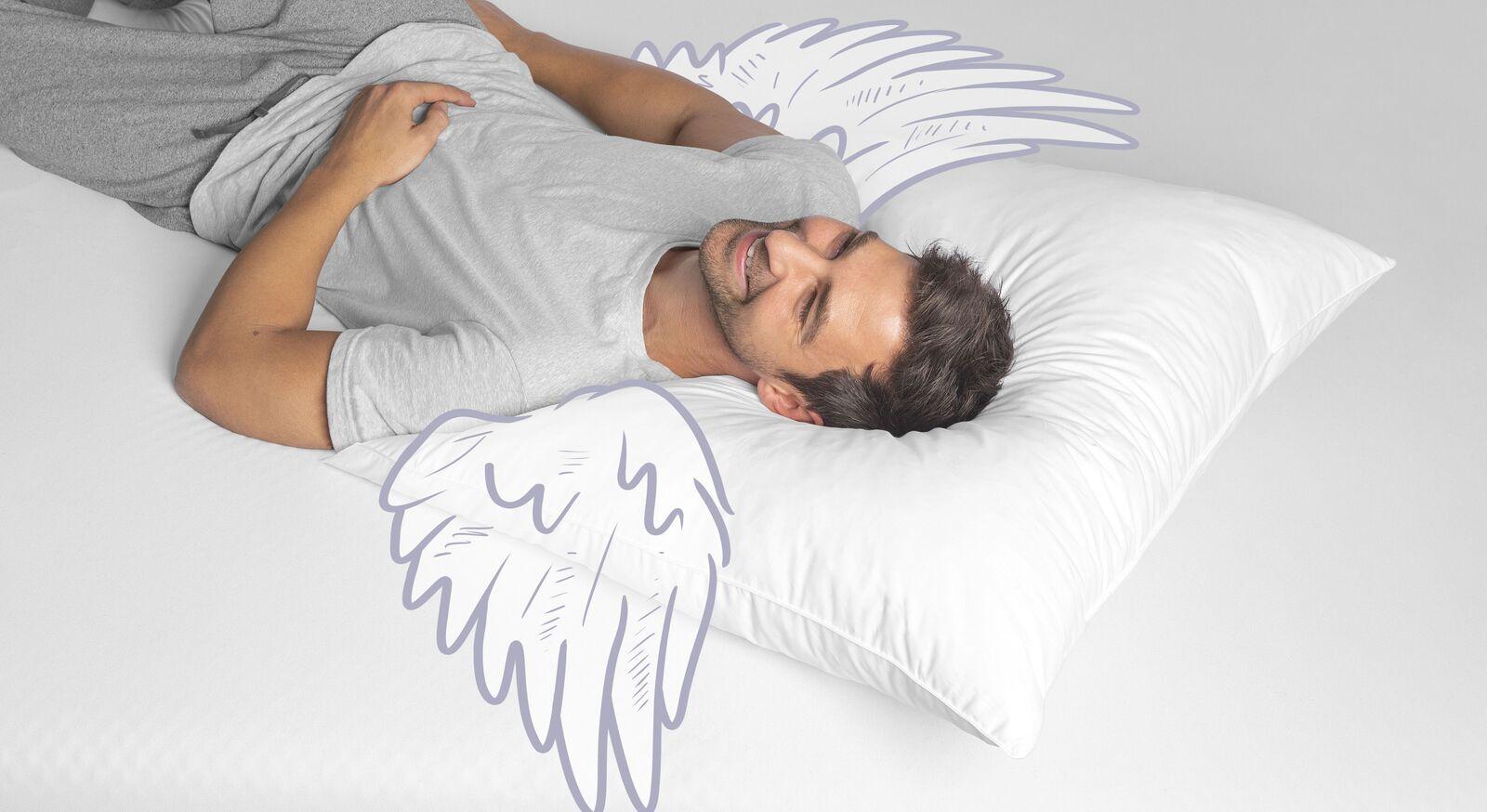 SCHLAFSTIL Daunen-Kissen D500 für Hausstaub-Allergiker