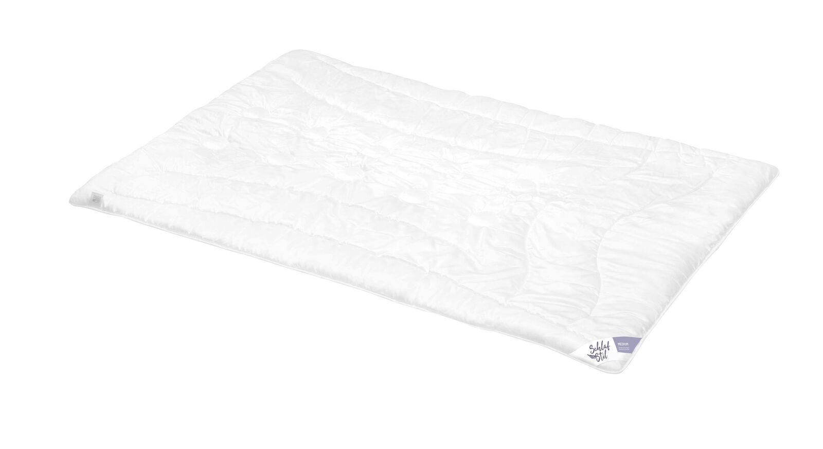 SCHLAFSTIL Kamelhaar-Flaum-Bettdecke N500 medium für normalen Wärmebedarf