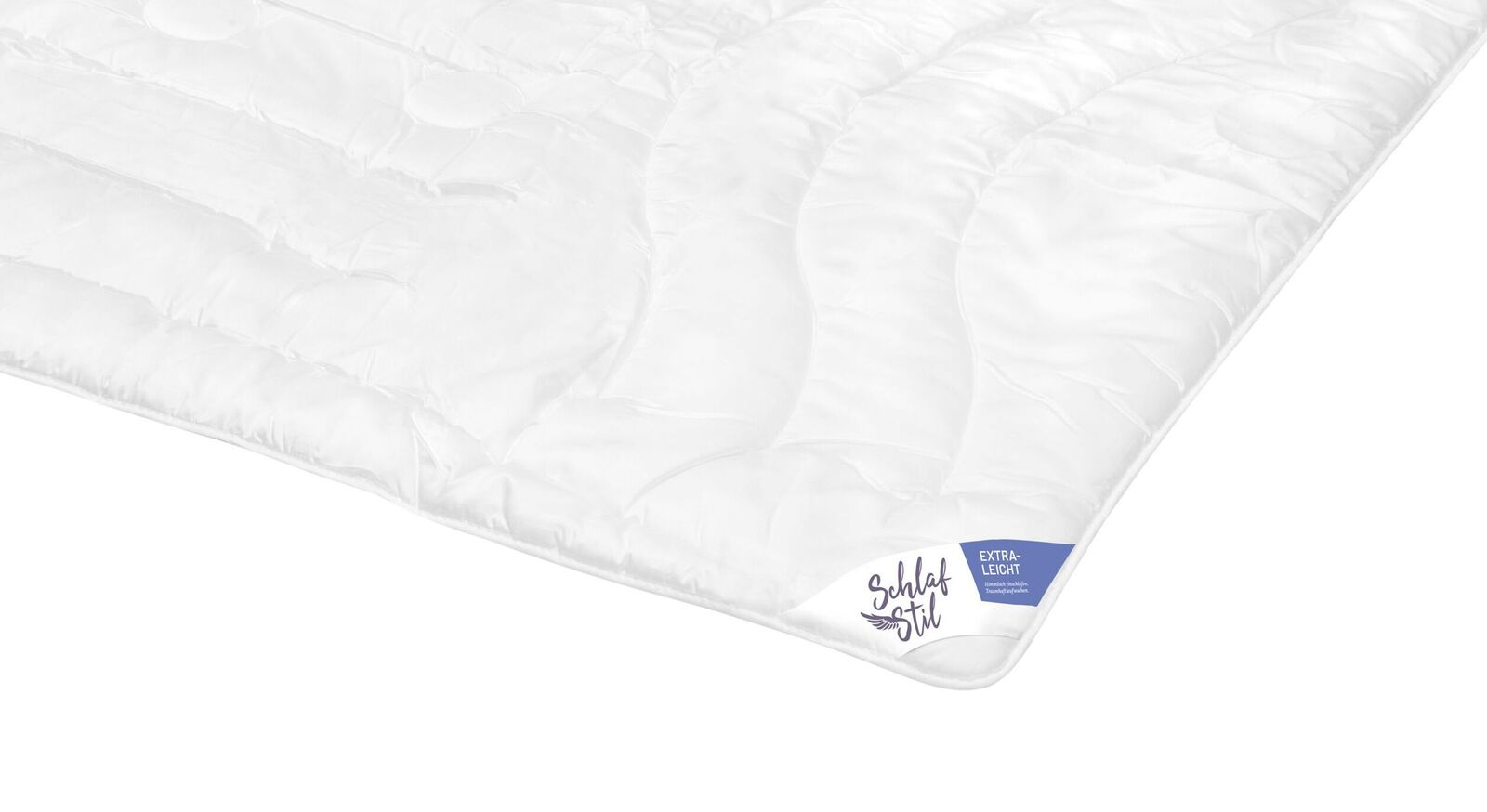 SCHLAFSTIL Markenfaser-Bettdecke F400 extra leicht für angenehmen Schlaf