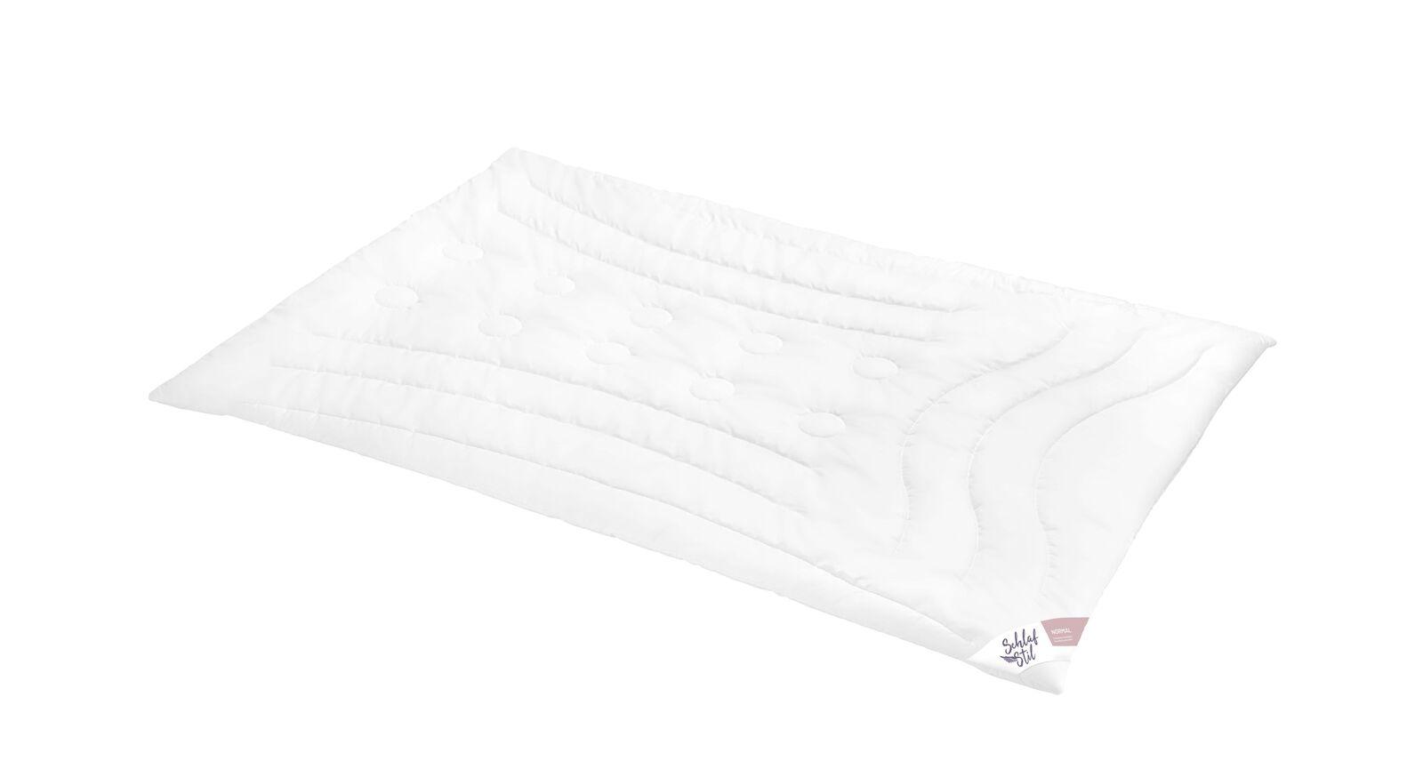 SCHLAFSTIL Markenfaser-Bettdecke F400 normal für ideal Bettklima