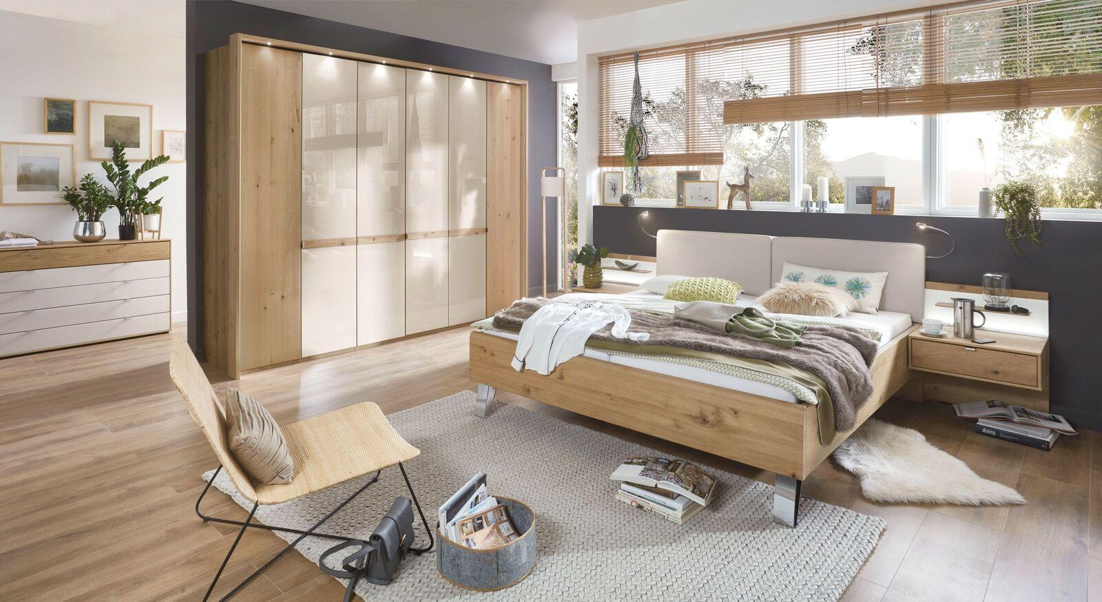 Schlafzimmer Corato mit eleganten Möbeln