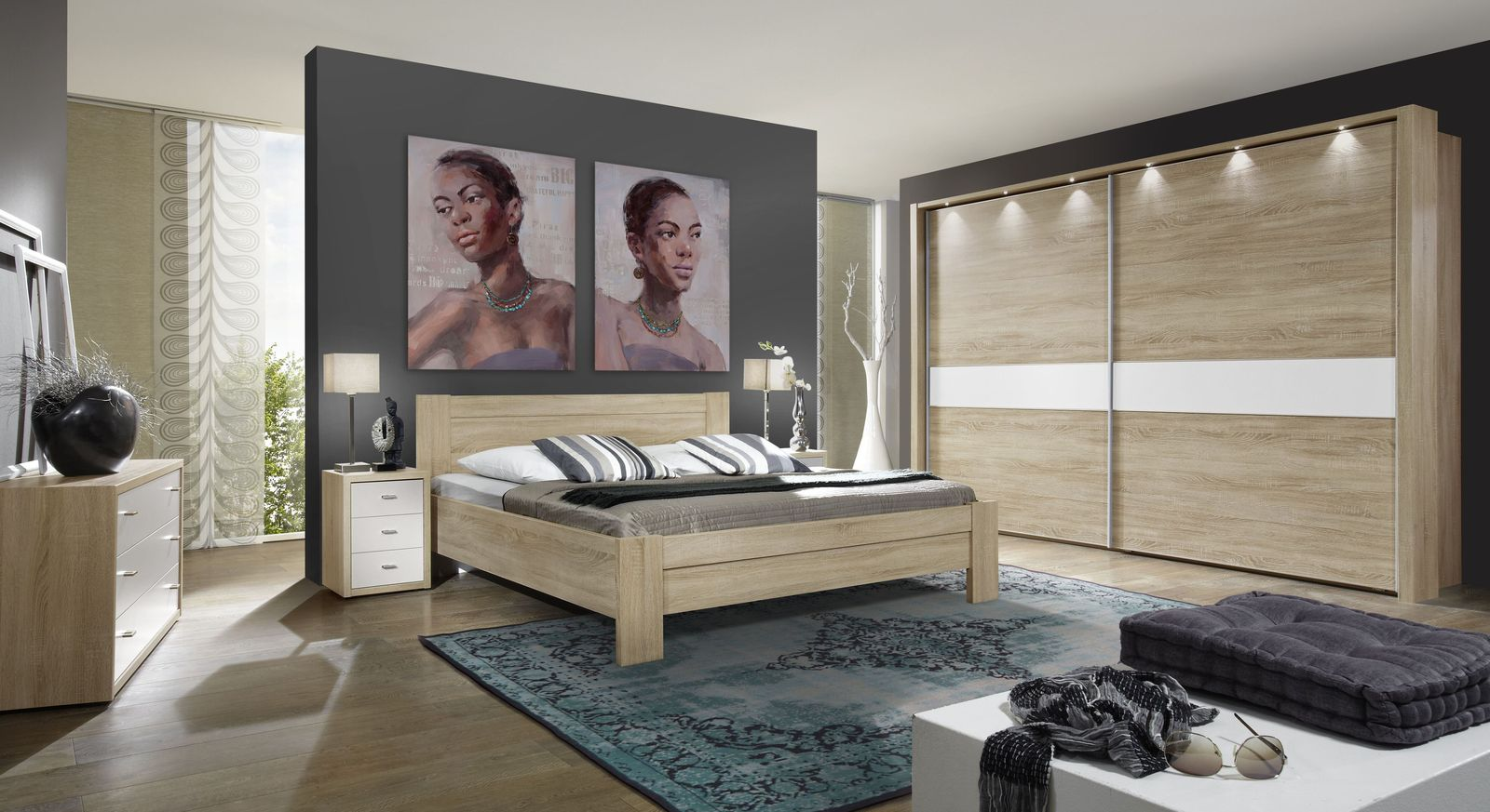 Komplett ausgestattetes Schlafzimmer Oakville