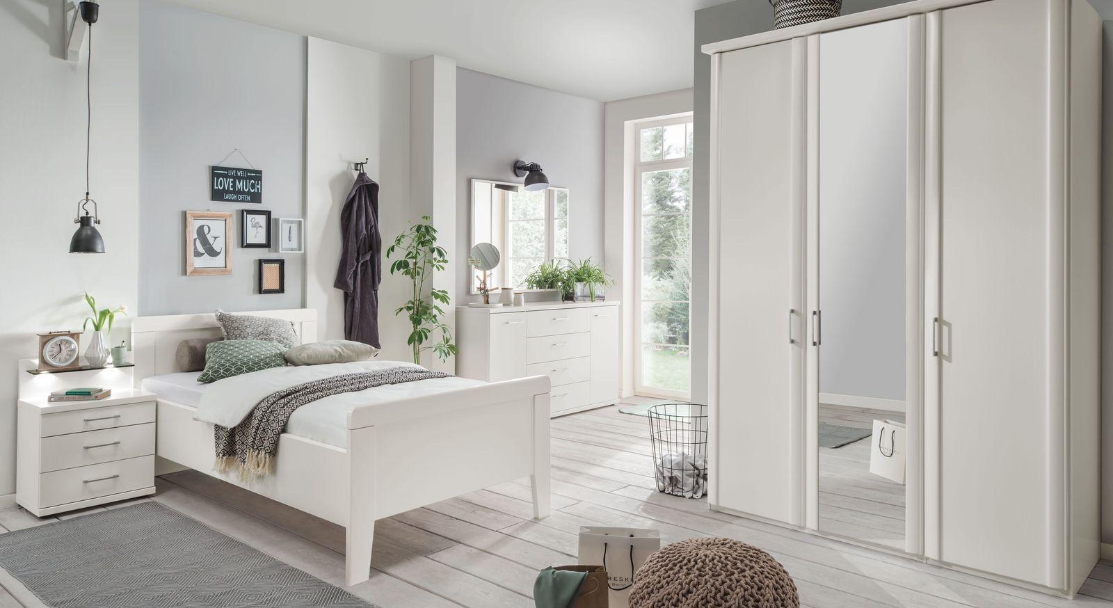 Möbel der Schlafzimmer Reihe Calimera