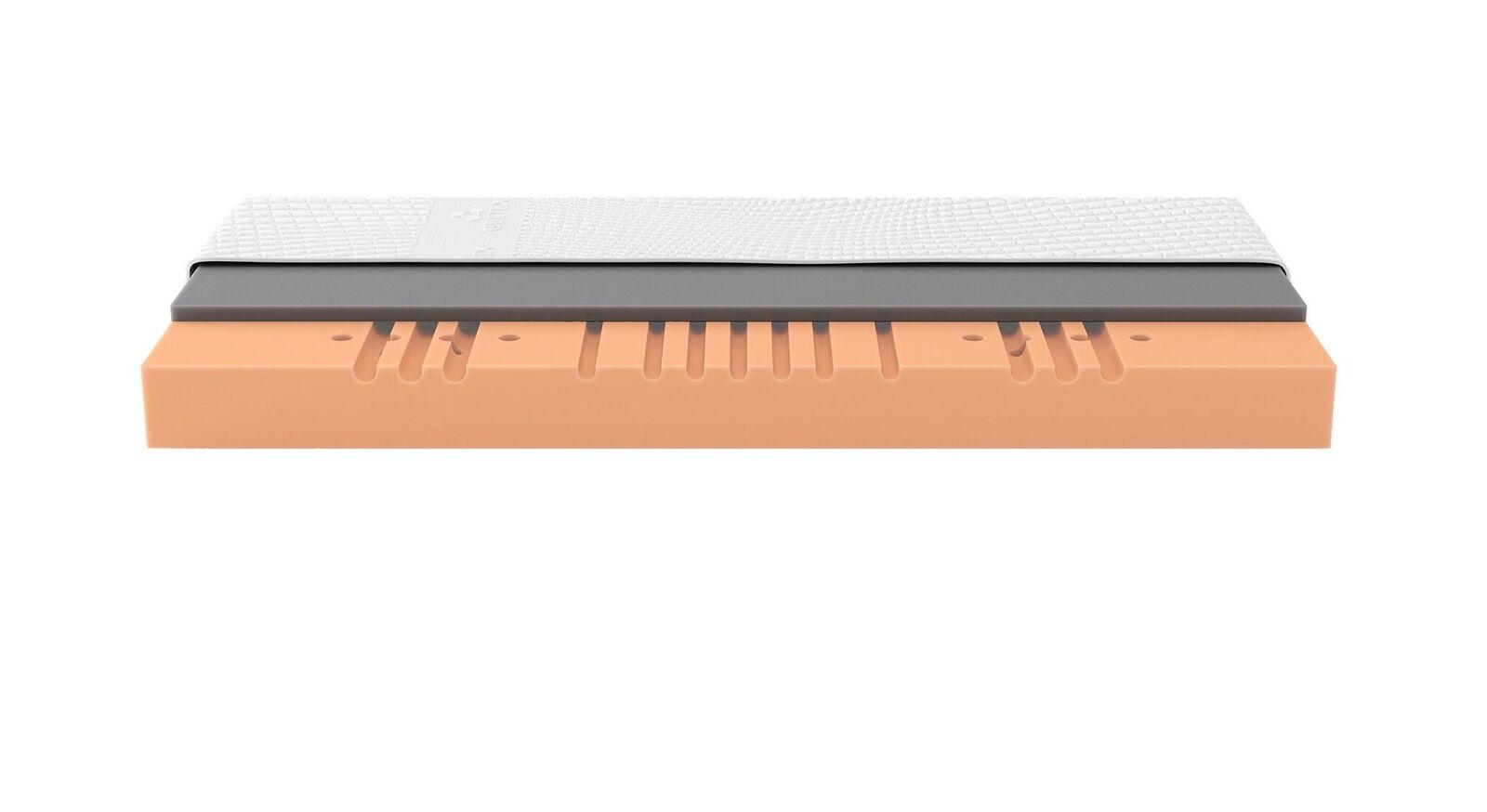 SCHLARAFFIA Gelschaum-Matzatze GELTEX Solaris ZT mit waschbarem Bezug