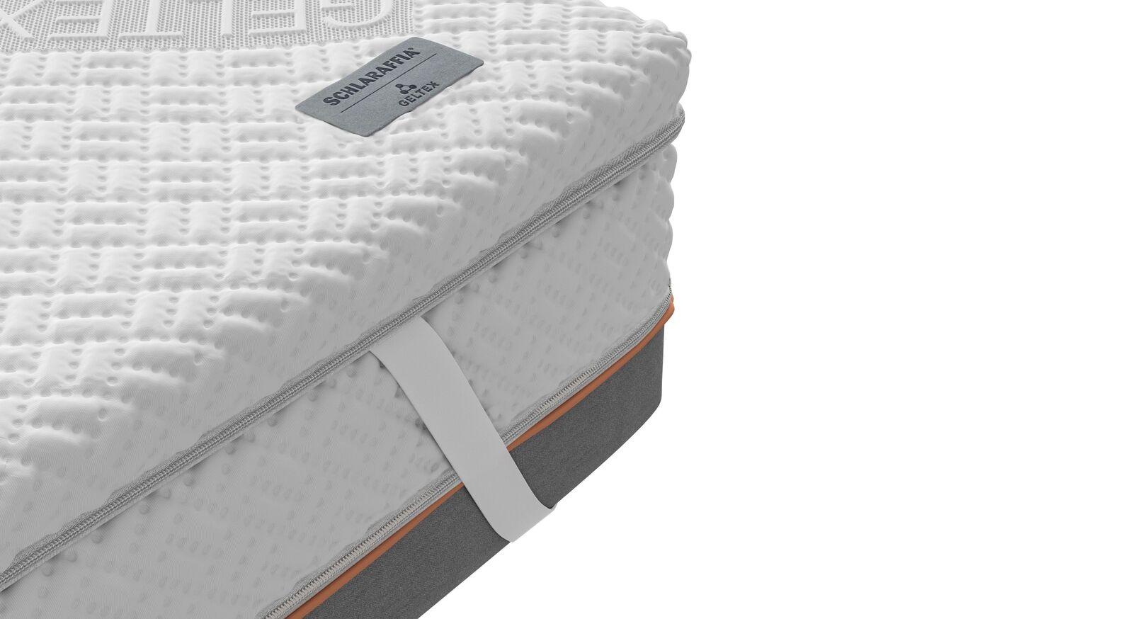 SCHLARAFFIA GELTEX-Topper Roll-n-Sleep mit Fixiergummis