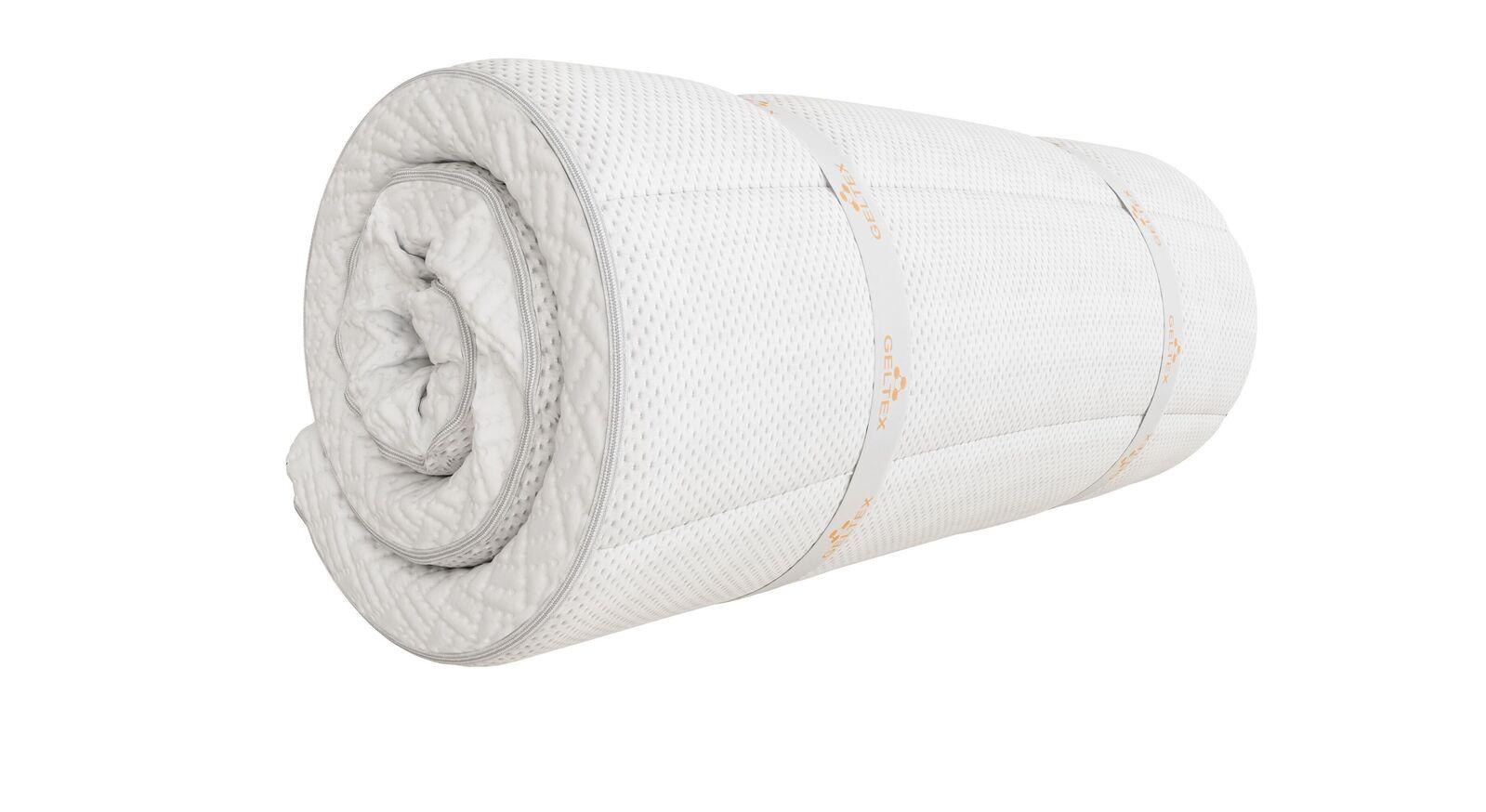 Kompakter SCHLARAFFIA GELTEX-Topper Roll-n-Sleep