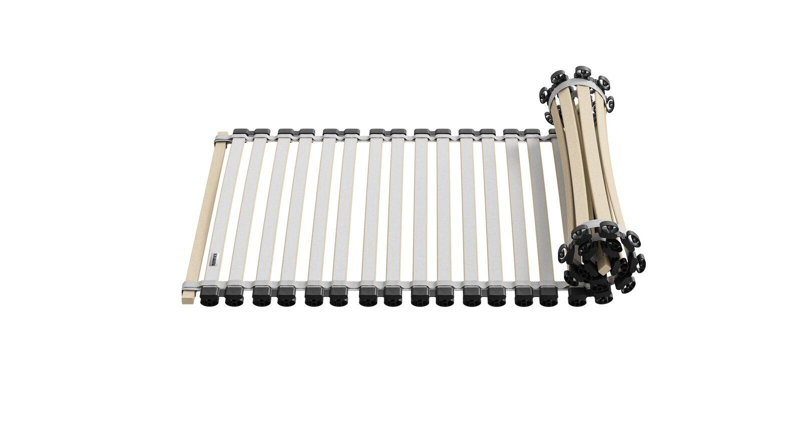 SCHLARAFFIA Lattenrost Roll-n-Sleep mit Mittelzonen-Verstärkung