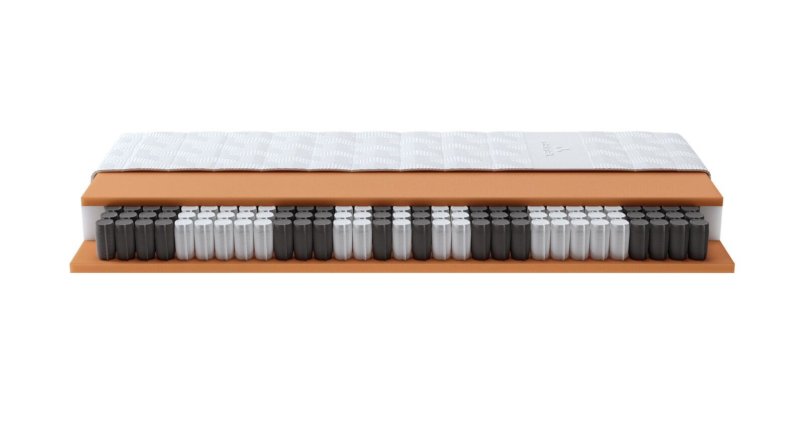 SCHLARAFFIA Taschenfederkern-Matratze GELTEX Quantum Pure 200 TFK mit beidseitiger Schaumabdeckung