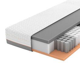 SCHLARAFFIA Taschenfederkern-Matratze GELTEX Solaris ZX TFK mit umlaufendem Klimaband