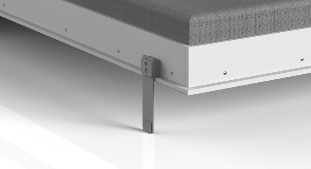Schrankbett Vallarta mit innovativem Metallfuß